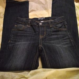 Cat & Jack blue jeans bootcut boys size 8